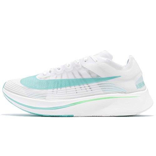 Nike Zoom Fly SP Herren Running Trainers AJ9282 Sneakers Schuhe (UK 9 US 10 EU 44, White Rage Green 103)