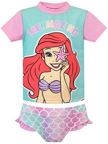 Disney Mädchen Zweiteiliger Badeanzug Arielle The Little Mermaid Mehrfarbig 110