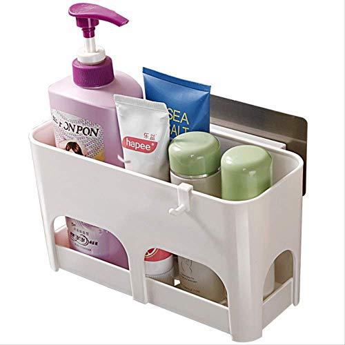 STAC Doble Qing Fuerte no escaneo Vent Cup Rack Cocina baño Lavado colección de Productos y estantes de Acabado