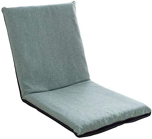 Relaxbx Inklapbare gamingsofa, multifunctionele bank, inklapbaar, gemakkelijk te verwijderen en te wassen, moderne eenvoud, slaapkamer, woonkamer, kleur: groen
