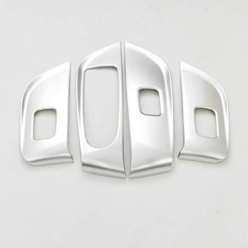 JOIUJmz Cubierta de Interruptor de elevación de Vidrio de Puerta y Ventana de Coche, Accesorios de Coche LHD, para Mercedes Benz Clase E 2016 2017 2018