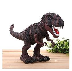 6. Wonder Toys Walking Light Up Dinosaur Toy