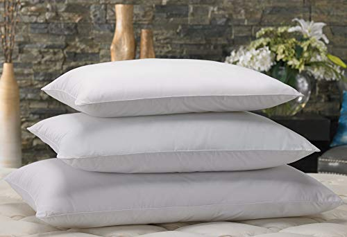 """Marriott Down Alternative Eco Pillow - Hypoallergenic Eco-Friendly Pillow with 100% Recycled Fill - Queen (20"""" x 30"""")"""