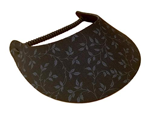 The Incredible Sunvisor Assorted Black and White Patterns Perfect for Summer! Made in The USA!! (B&W 7)