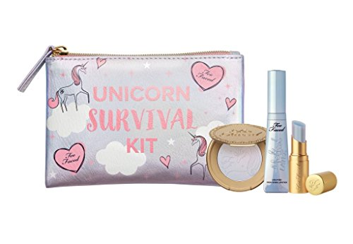 Too Faced Limited Edition Unicorn Survival Kit - Mystical Lip & Highlighter Set
