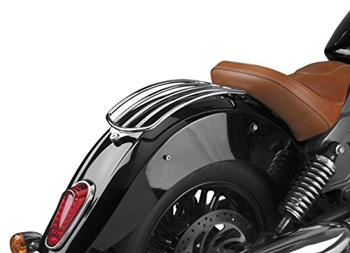 National Cycle Fender-Mount Chrome Solo Luggage Rack P9500-001