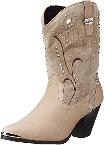 Dingo Women's Ava Western Boot,Chestnut,7.5 M US