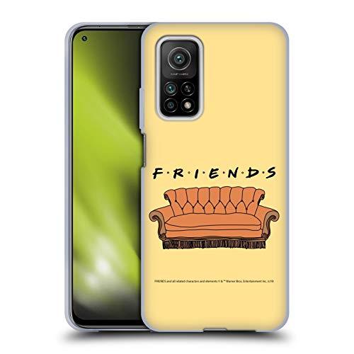Head Case Designs Oficial Friends TV Show Sofá Icónico Carcasa de Gel de Silicona Compatible con Xiaomi Mi 10T 5G