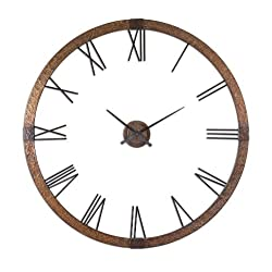 Uttermost Amarion Oversized 2-Piece 60.25-in. Wall Clock