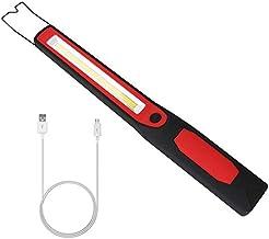 BAJIE Zaklamp Draagbare Spotlight Werklamp 2In1 Oplaadbare Led Cob Camping Werk Inspectie Licht Lamp Handlamp Magnetisch 4...