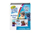 Crayola Puppy Dog Pals Color Wonder Travel Activity Pad, Mess Free Coloring, Gift for Kids, 3, 4, 5, 6, Multi