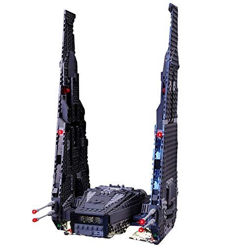 ADMLZQQ Conjunto de Luces Lightailing para (Kylo Ren's Command Shuttle) Modelo de Construcción, Kit de luz LED Compatible con Lego 75104 (NO Incluido en Modelo)