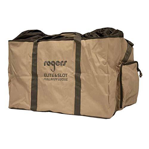 Rogers Sporting Goods 6 Slot Full Body Goose Decoy Bag-Brown in Brown