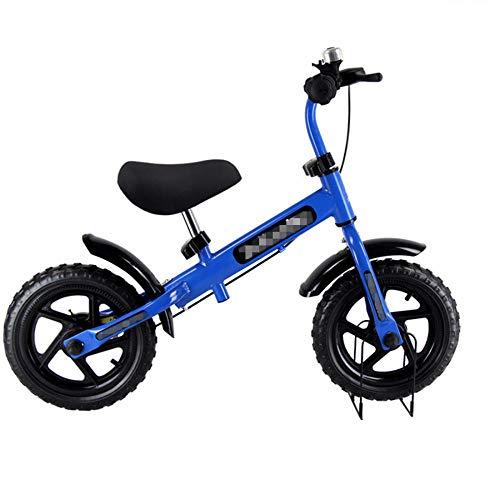 YSCYLY Entrenamiento Transicional En Bicicleta,Caminante Deslizante de Juguete para niños con Freno,Sin...