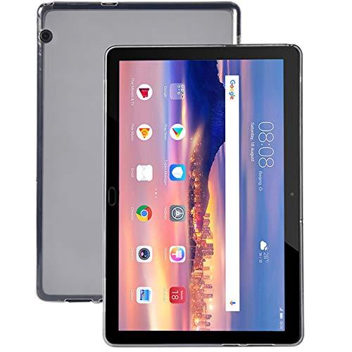 Lobwerk Schutzhülle für Huawei MediaPad M5 Lite mit 10.1 Zoll Hülle Slim Hülle Cover Ultra Dünn Stoßfest Klar