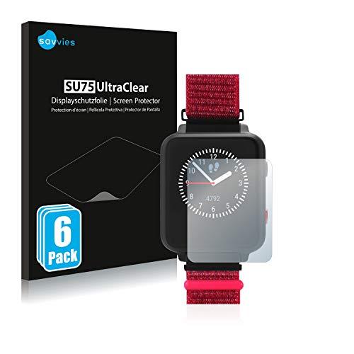 Savvies 6X Schutzfolie kompatibel mit Anio 5 Displayschutz-Folie Ultra-transparent