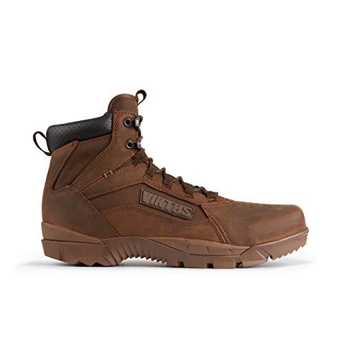 VIKTOS Men's Strife Mid Waterproof Combat Boot, Gunstock, Size: 9.5
