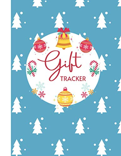 Gift Tracker: Christmas Shopping List Planner to Track Your Online Orders and Gift Ideas vol 12