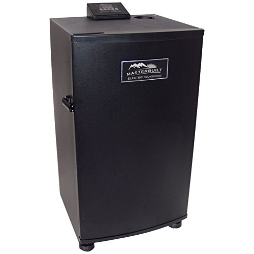 Masterbuilt 20070910 30-Inch Black Electric Digital Smoker,...