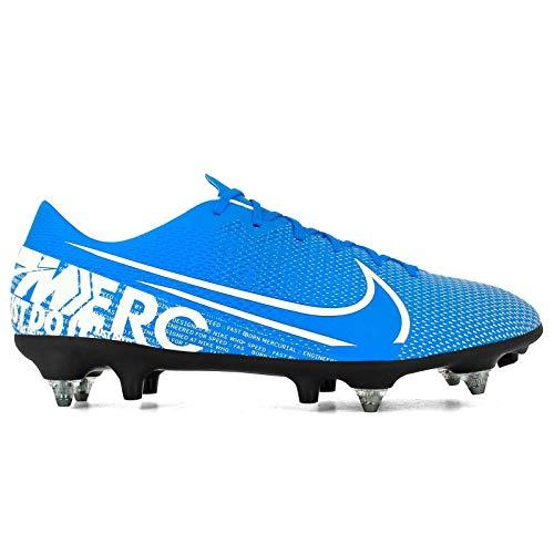 Nike Unisex-Erwachsene Vapor 13 Academy Sg-pro Ac Fußballschuhe, Mehrfarbig (Blue Hero/White-Obsidian 414), 44 EU
