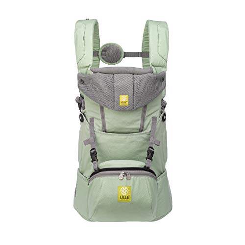 LÍLLÉbaby SeatMe Hip Seat All Seasons Baby Carrier with Structured Seat Insert, Sage