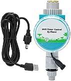 WIFI Fernbedienung Magnetventil Bewässerungsregler 5V Intelligentes Gartenbewässerungswerkzeug Ventilsteuerungen Digitaler Bewässerungs-Timer für Gartenrasen