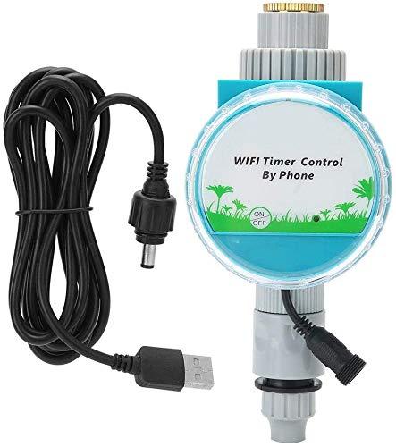 WIFI Telecomando Elettrovalvola per irrigazione Regolatore 5V Intelligente Strumento per irrigazione del giardino Regolatori per valvole Timer per irrigazione digitale per prato giardino