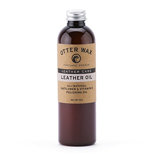 Otter Wax Leather Oil | 5oz | All-Natural Universal Polish & Conditioner | Made in USA