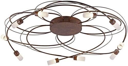 LED Deckenleuchte Paul Neuhaus Nelia 8251-48 Lampe Dimmbar Rost Weiß