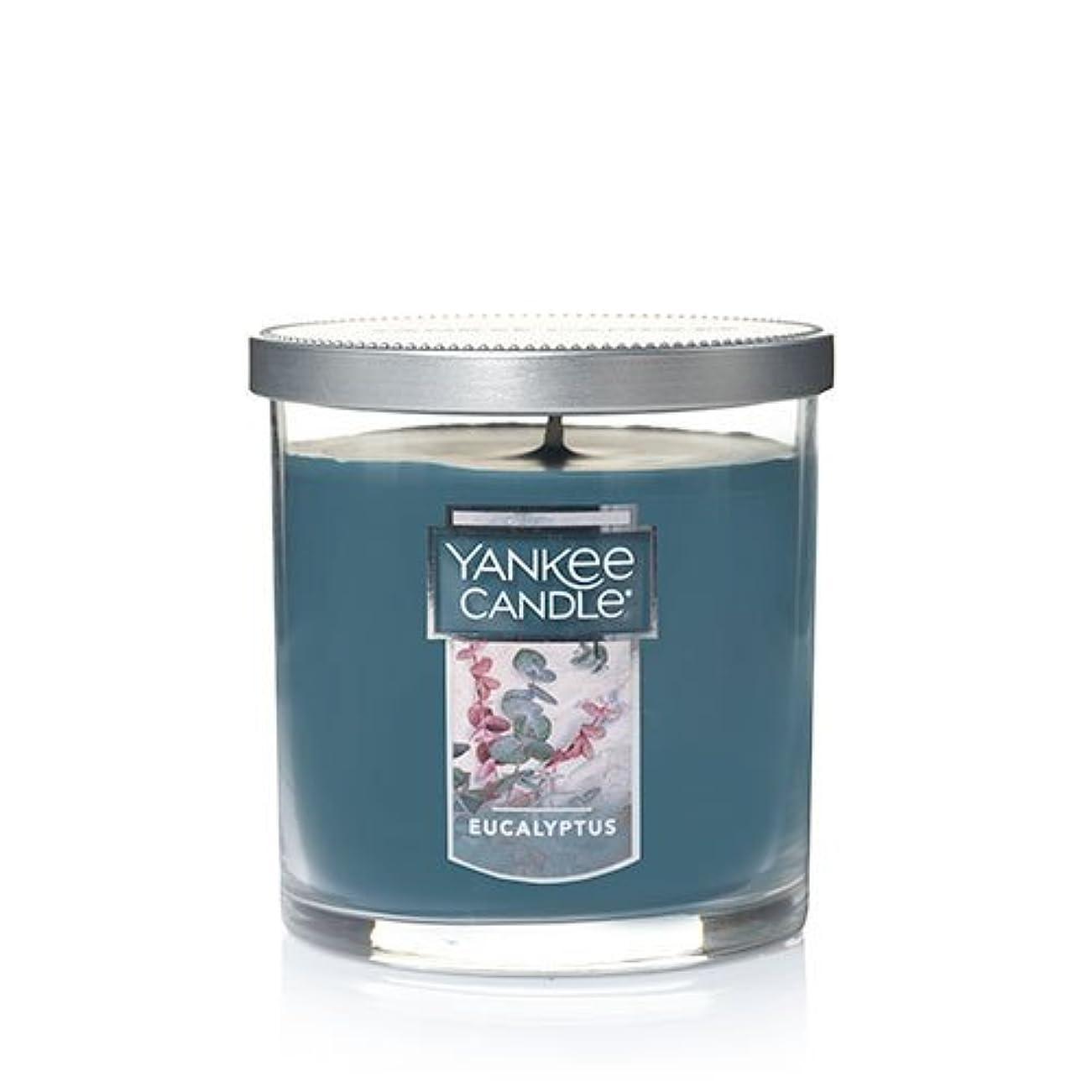 迫害する洗練されたディンカルビルYankee Candleユーカリ、新鮮な香り Small Single Wick Tumbler Candle グリーン 1185969Z