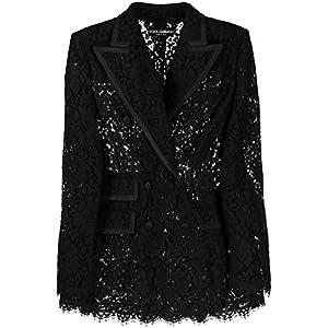 DOLCE E GABBANA Luxury Fashion Damen F29AITHLM0MN0000 Schwarz Viskose Blazer | Frühling Sommer 20