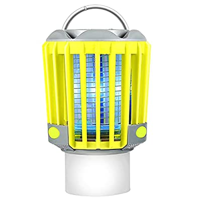 RUNACC Camping Lantern LED Flashlight - Portable IP66 Waterproof Outdoor Tent Light Camp Lamp with 2200mAh Rechargeable Battery, SOS Emergency Warning Lighting