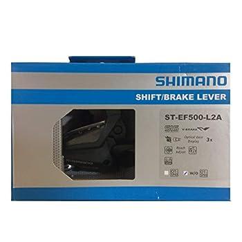 Shimano ST-EF500-L2A Bicycle Shift/Brake Lever - Left 3-Speed - ESTEF5002LSBL