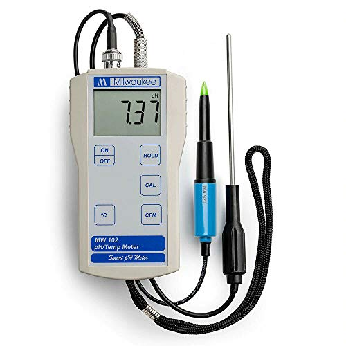 Milwaukee MW102-Food (MA920 Probe) pH Meter for Food Meat Cheese Dairy Products