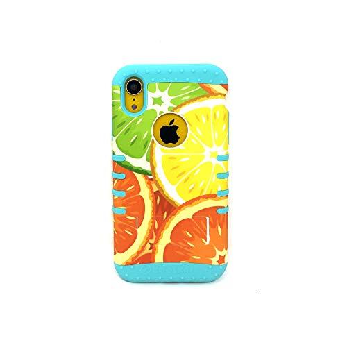 KOOL KASE Summer Vibes Rocker Snap On Case for iPhone XR (Blueish Green)