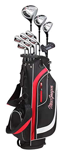 Magregor Men's CG2000 Golf Club Package Set, Right Hand, Steel, with Cart Bag