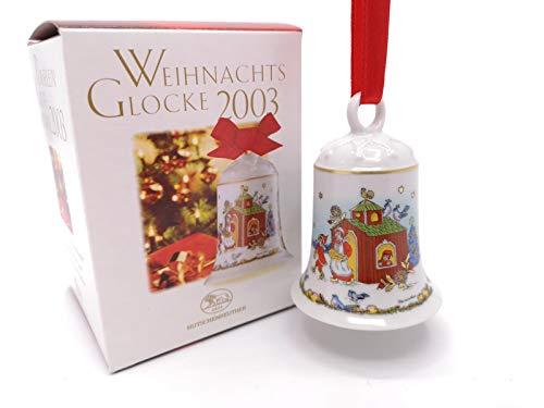 Hutschenreuther Porzellan Weihnachtsglocke 2003 in der Originalverpackung NEU 1.Wahl