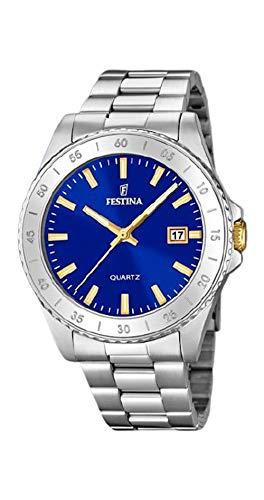 Festina Reloj Mujer Acero Esfera Azul - Ref F20428/2