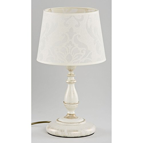 ALFA ROKSANA WHITE Lampe de table Lampadaire de lumière de nuit