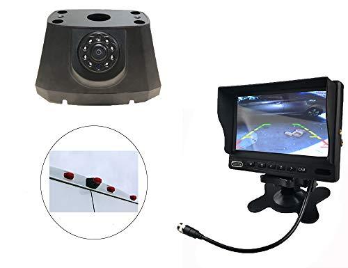 Vision de Nuit la Vue arrière imperméables IR Renforts troisième Frein lumière caméra pour 2008-2016 Dodge promaster + 7 Pouces HD inverser rétroviseur surveiller