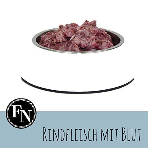 Frostfutter Nordloh Barfpaket Rindfleisch mit Blut. 10 kg, tiefgefrorenes Barffleisch für Hunde- und Katzen