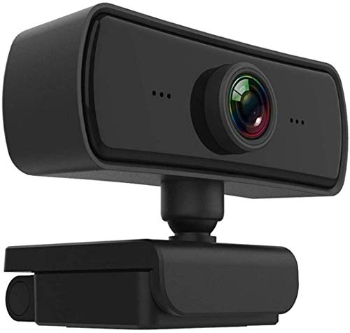 GTJF Web Cam 1080P HD Computer Camera Video Conference Webcam Auto Focus 360° Rotation Video Compression With Microphone Multifunctional Base USB