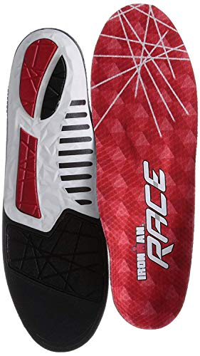 Spenco Ironman Race Insole,Red,US 6