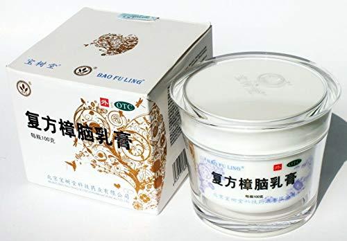 Bao Shu Tang Bao Fu Ling Camphor Cream Scalded Compound Camphor Cream100 G