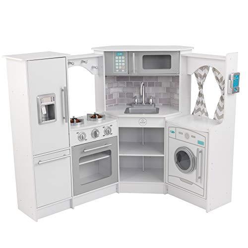 KidKraft Ultimate Corner Play Kitchen Set - White (Amazon Exclusive)