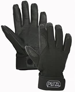 Petzl K52 CORDEX Lightweight Glove, Black, Medium