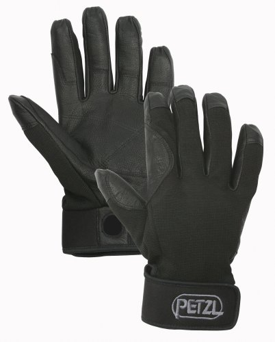 PETZL - CORDEX Plus, Gloves for Climbers, Black, Small