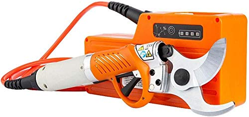TYX-SS Tijeras de podar eléctricas, Tijeras de podar eléctricas para árboles frutales Recargables con batería Diámetro de Corte eléctrico 30 mm / 45 mm / 50 mm Ramas