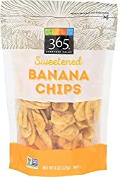365 Everyday Value, Sweetened Banana Chips, 8 oz