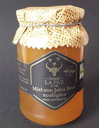 """Miel ecológica con Jalea Real \""""Granja La Paz\"""""""